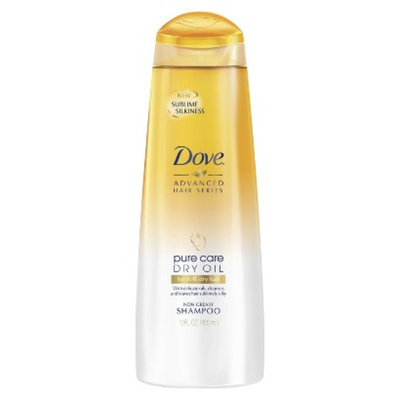 Dove Beauty Dove Pure Care Dry Oil for Dull, Dry Hair Shampoo - 12.0 fl oz