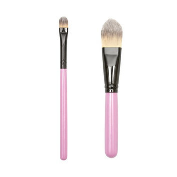 ON&OFF PINKLOVE BRUSH COLLECTION Concealer and Powder Brush