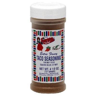 Fiesta Seasoning Taco, 4.5-Ounce (Pack of 6)
