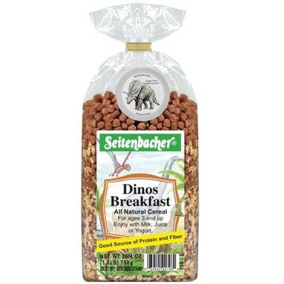 Seitenbacher Muesli Dinos Breakfast, 26.4-Ounce Bags (Pack of 3)