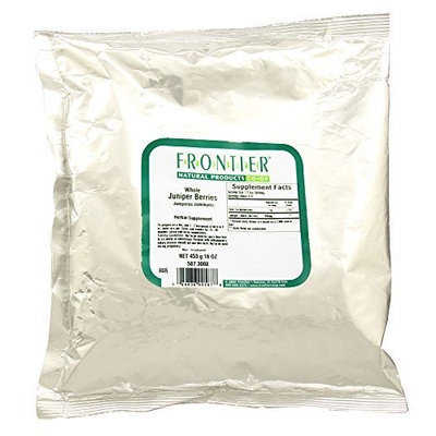 Juniper Berries, Whole Frontier Natural Products 1 lbs Bulk