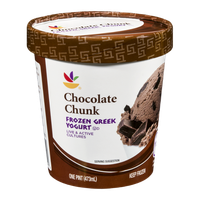 Ahold Chocolate Chunk Frozen Greek Yogurt