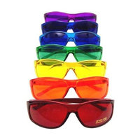 Biowaves Color Therapy Glasses Pro Style Set of 7 Colors Also Available in Set of 9 or 10