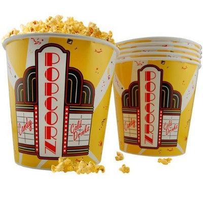 Kegworks Popcorn Buckets - Set of 6