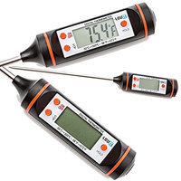 LovIT Scientific Digital Internal Meat Thermometer for Grilling and Oven Roasting - Accurate, Electronic Probe - Easy to Read