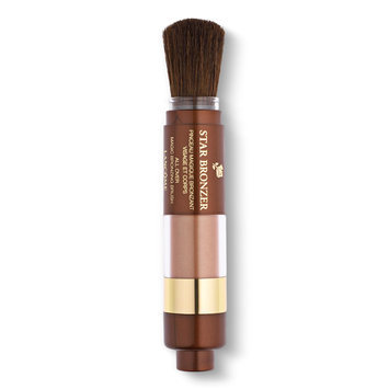 Lancôme STAR BRONZER - Magic Bronzing Brush - Automatic Powder Brush for Face and Body Cuivre