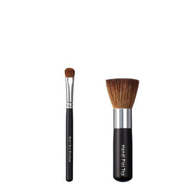 ON&OFF Wet/Dry Shadow and Handi Flat Top Makeup Brush