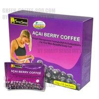 Smart Sense 4 Leptin Acai Berry Coffee - *New Original Stickers*