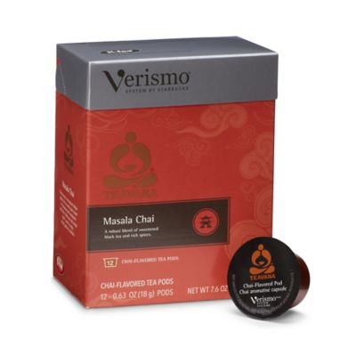 Starbucks Verismo 12-Count Teavana Masala Chai Tea Pods