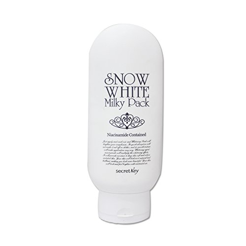 Secret key Snow White Whitening Milky Pack Mask for Face and Body