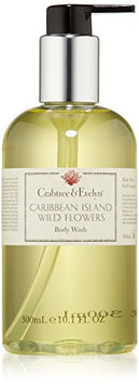 Crabtree & Evelyn Caribbean Island Wild Flowers Body Wash 300ml