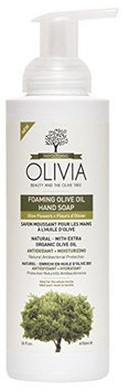 Olivia Olive Oil Beauty Products Olive Flower Foaming Hand Soap