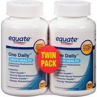 Equate One Daily Men's Health Multivitamin/Multimineral Supplement