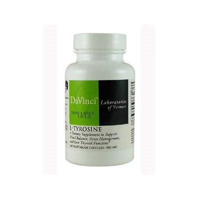 DaVinci Laboratories - L-Tyrosine 500 mg. - 60 Vegetarian Capsules