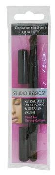 Studio Basics Double Retractable Eye Brush