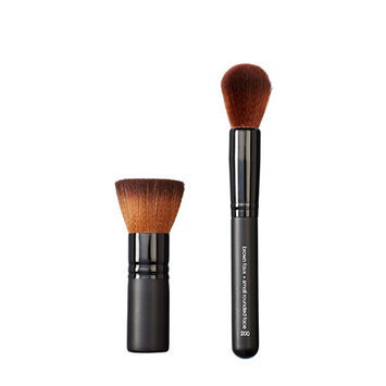Makeover Vegan Love Mini Wide Flat Top and Rounded Face Brush