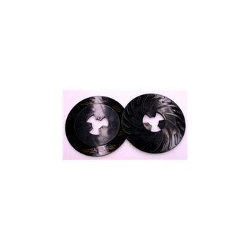3M Abrasive 405-051144-80515 Disc Pad Face Plate Ribbed, 10 Per Box