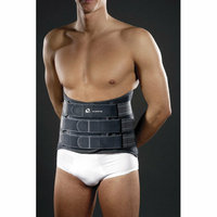 M-Brace Extra Lumblock with Rigid Stays Back Brace in Dark Grey
