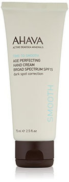 AHAVA Time to Smooth Age Perfecting Hand Cream Broad Spectrum SPF 15