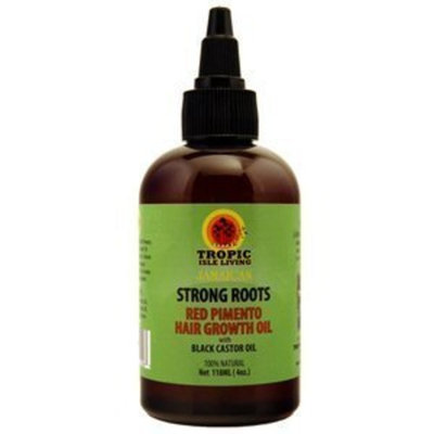 Tropic Isle Living Tropic Isle Strong Roots Red Pimento Hair Growth Oil, 4 Ounce