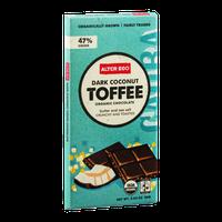 Alter Eco Dark Coconut Toffee Organic Chocolate