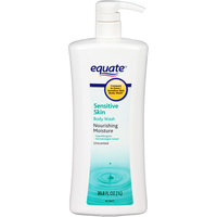 Equate Sensitive Skin Unscented Body Wash