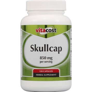 Vitacost Brand Vitacost Skullcap -- 850 mg per serving - 120 Capsules