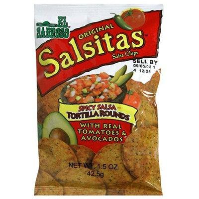 El Sabroso Original Salsitas, Spicy Salsa Tortilla Rounds