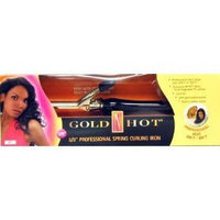 Gold 'N Hot Professional Spring-Grip Curling Iron
