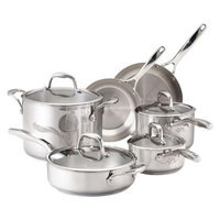 Guy Fieri Stainless Steel 10 Piece Cookware Set