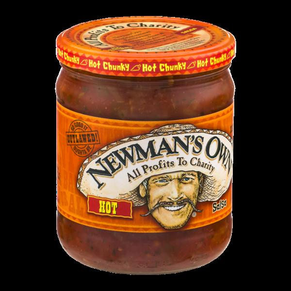 Newman's Own Hot Salsa