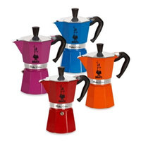 Crate And Barrel Bialetti - Moka Express Colour Coffee Pot - 6 Cup - Red