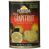 Festival White Grapefruit Segments in Light Syrup, 15-Ounce (Pack of 12)