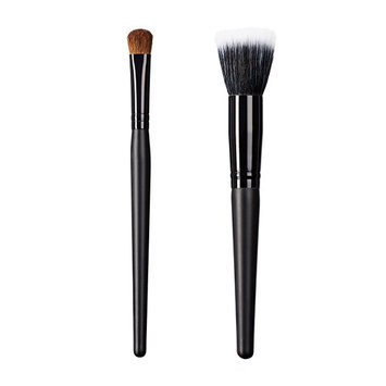 ON&OFF East Meets West Collection Large Oval Shader and Stipple Brush Set