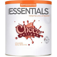 Emergency Essentials Food Choco Delight Chocolate Dairy Drink Mix, 80 oz