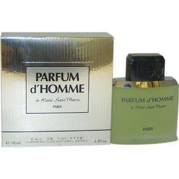 Parfum D' Homme Men Eau-de-toilette Spray by Kristel Saint Martin, 3.4 Ounce