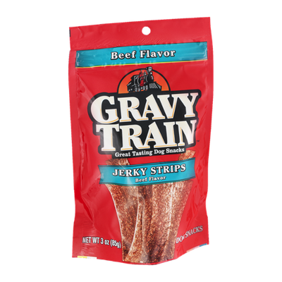 Gravy Train Jerky Strips Beef Flavor Dog Snacks