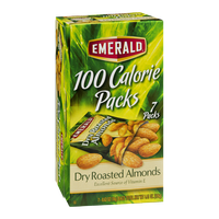 Emerald 100 Calorie Packs Dry Roasted Almonds - 7 CT
