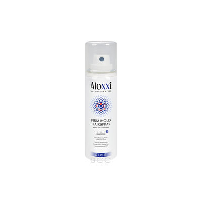 Aloxxi Style Firm Hold Hair Spray Ultra Strong Hold UV Protection - 1.5 oz
