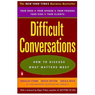 Penguin Group USA Difficult Conversations : How to Discuss What Matters Most (Paperback)