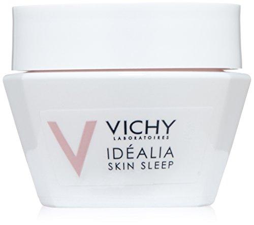 Vichy Idéalia Skin Sleep Night Recovery Cream with Caffeine and Hyaluronic Acid Travel Size