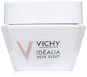 Vichy Idéalia Skin Sleep Night Recovery Cream with Caffeine and Hyaluronic Acid Travel Size