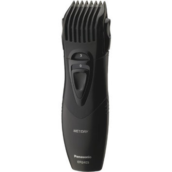 Panasonic ER2403K Moustache and Beard Wet/Dry Trimmer