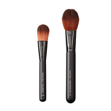 Makeover Vegan Love Foundation Brush and Pointed Face Brush