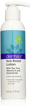 derma e Itch Relief Lotion with Tea Tree