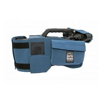 Porta Brace Camera Body Armor for Panasonic AJ-HPX3100GJ, Blue
