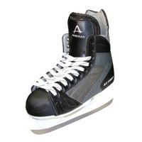American Athletic Men's American Ice Force Hockey Skate - Black (8)