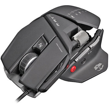 Madcatz MADCATZ MCB4370500C2 04 1 R.A.T.5 Optical Mouse (Gloss Black) MAD43705C2