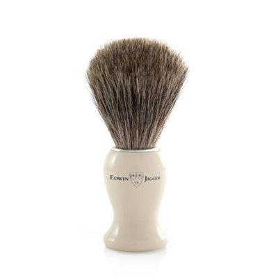 Edwin Jagger Simulated Ivory Pure Badger Hair Shaving Brush