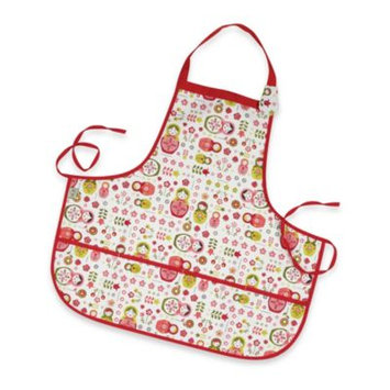 O.r.e. Originals Matryoshka Doll Kiddie Apron by Ore Originals